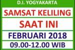 Jadwal SAMSAT Keliling DIY Februari 2018