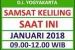 Jadwal SAMSAT Keliling DIY Januari 2018