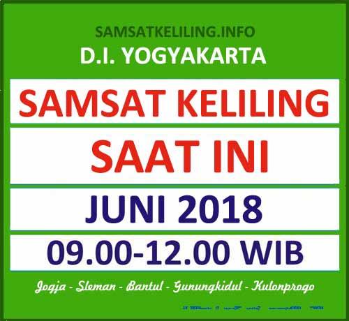 Jadwal SAMSAT Keliling DIY Juni 2018