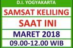 Jadwal SAMSAT Keliling DIY Maret 2018
