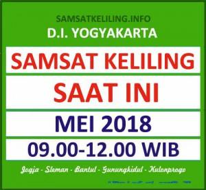 Jadwal SAMSAT Keliling DIY Mei 2018