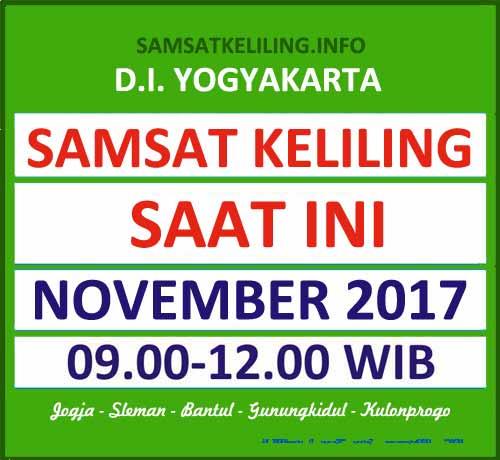 Jadwal SAMSAT Keliling DIY November 2017
