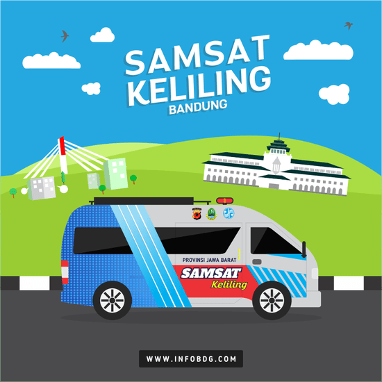 Jadwal SAMSAT Keliling Bandung Februari 2020
