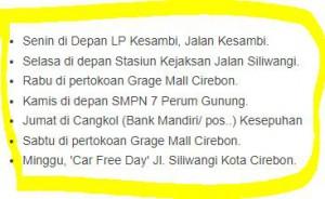 Jadwal SAMSAT Keliling Cirebon 2018