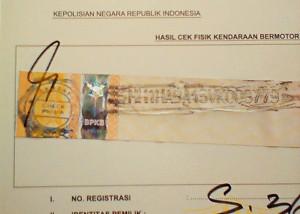 Lokasi Cek Fisik Kendaraan Yogyakarta