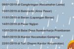 Jadwal SAMSAT Keliling Sleman Januari 2019