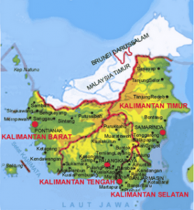 Kode Plat Nomor daerah Kalimantan