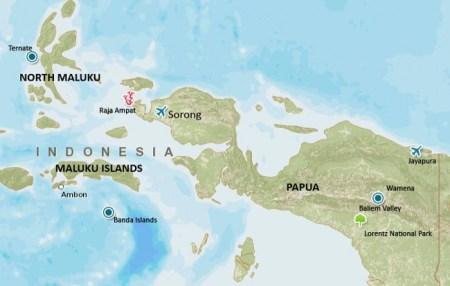 Kode Plat Nomor daerah Maluku dan Papua