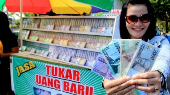 jasa tukar uang baru