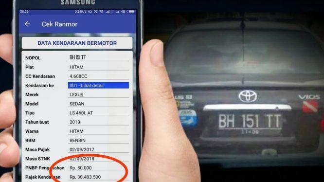 Cek Data Kendaraan Bermotor Online