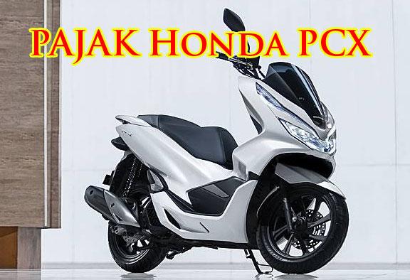 Foto STNK di atas menjelaskan total nilai pajak New Honda PCX 150 Tahun 2021 tipe CBS yang harus di bayar saat perpanjangan adalah sebesar Rp. 377.000,-. Nilai pajak tersebut adalah hasil penjumlahan dari PKB sebesar Rp 342.000,- dan SWDKLLJ sebesar Rp 35.000,-.
