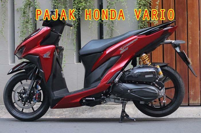 Pajak Honda Vario 2021