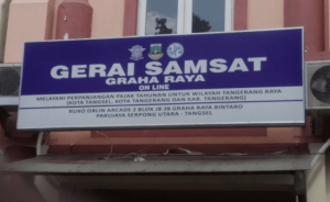 Gerai SAMSAT Online Tangerang 2021