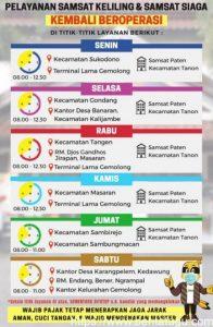 Jadwal Samsat Keliling Kabupaten Sragen