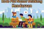 Kode Plat Nomor Kendaraan di Indonesia