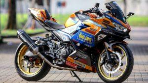 Kawasaki Ninja Motor Modification keren