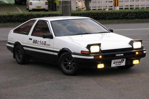 Mobil klasik toyota AE86