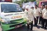 Pelaksanaan SAMSAT Keliling Malang 2021