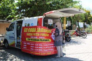 Uji Coba Jaringan untuk pembayaran pajak SAMSAT Paten Parakan Temanggung