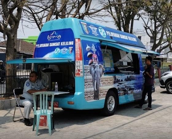Pelayanan samsat keliling Bandar Lampung 2021