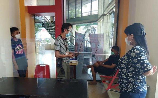 Samsat Corner Megamall Kembali Dibuka