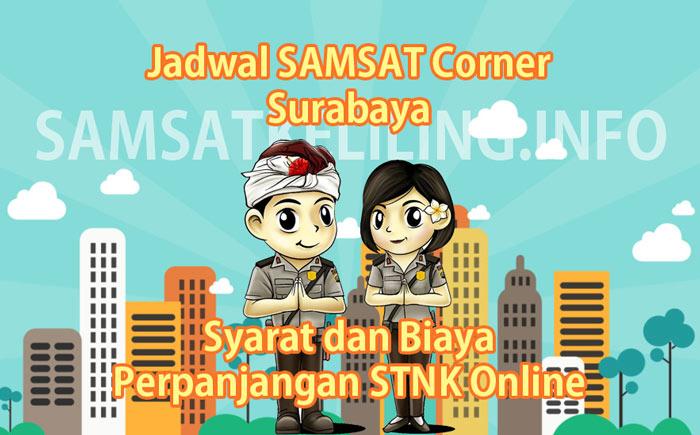 Jadwal SAMSAT Corner Surabaya Hari Ini