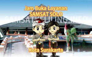 Jam Buka Layanan SAMSAT Solo Kota Surakarta