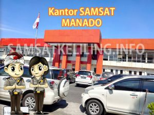 Kantor Induk Pusat SAMSAT Manado