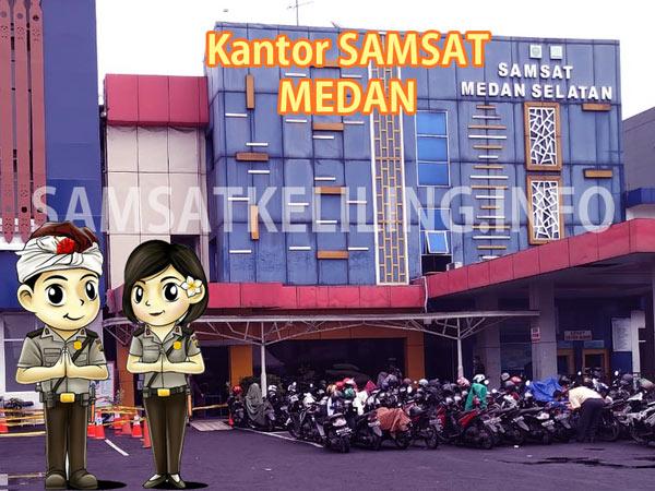Kantor Induk Pusat SAMSAT Medan