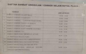 Lokasi Alternatif SAMSAT Corner Surabaya