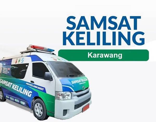 Lokasi layanan SAMSAT Corner Karawang