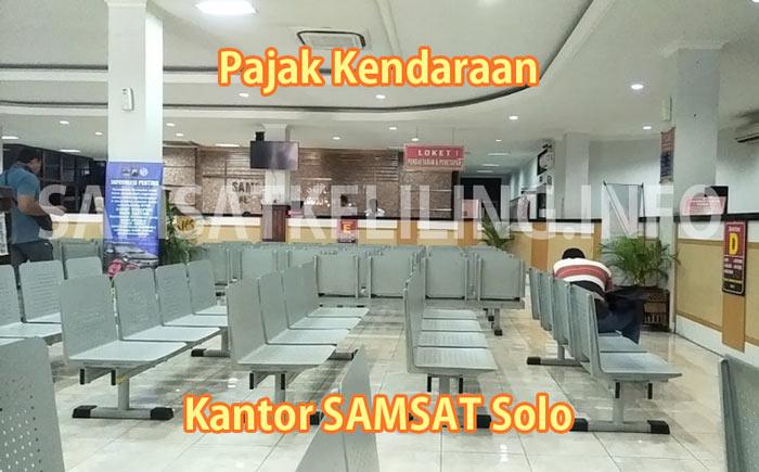 Pajak Kendaraan di Kantor SAMSAT Solo