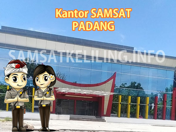 Pelaksanaan layanan Kantor SAMSAT Induk Kota Padang