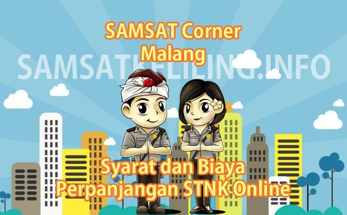 Pelayanan pajak kendaraan SAMSAT Corner Malang