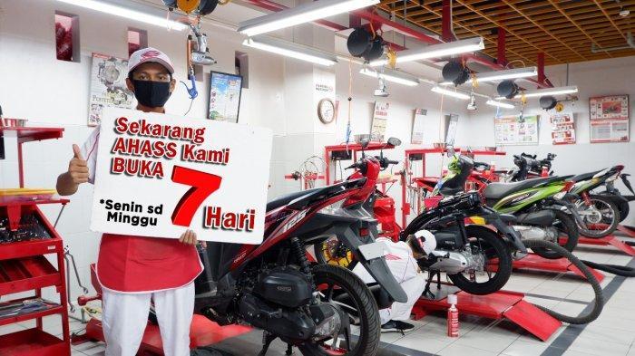 Biaya Servis Motor Honda AHASS