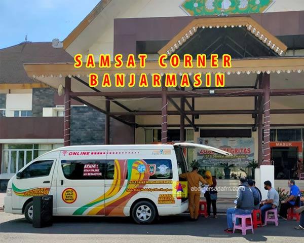 Jadwal SAMSAT Corner Banjarmasin