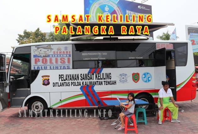 Lokasi Pelayanan SAMSAT Corner Palangkaraya Kalteng