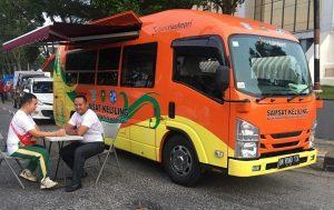 Ilustrasi Operasional Mobil SAMSAT Keliling Makasar