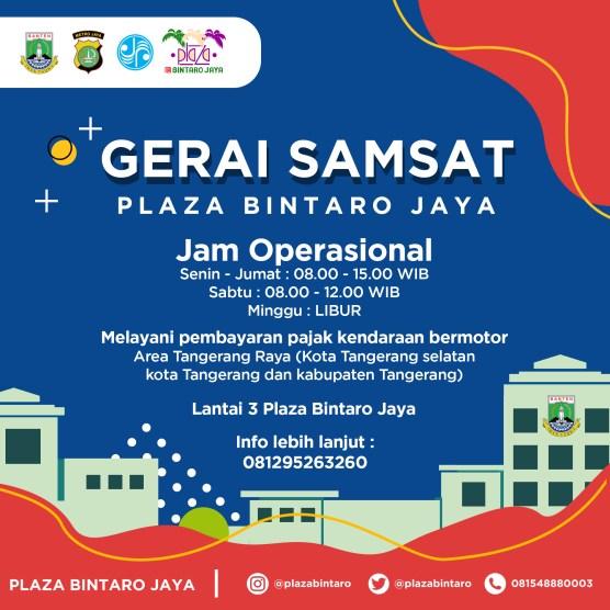 Gerai SAMSAT Plaza Bintaro Raya
