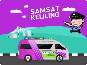 Operasional Mobil SAMSAT Keliling Karanganyar