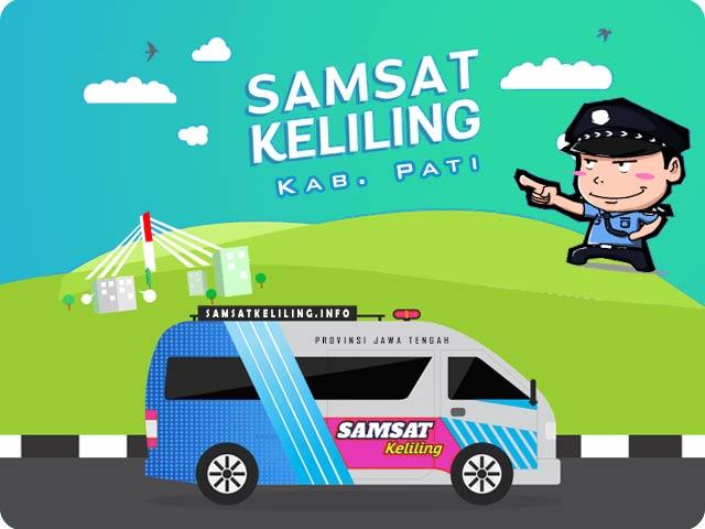 Ilustrasi Mobil SAMSAT Keliling Kabupaten Pati