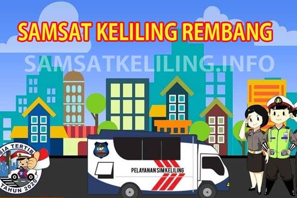 Jadwal dan Lokasi SAMSAT Keliling Kota Rembang Terbaru