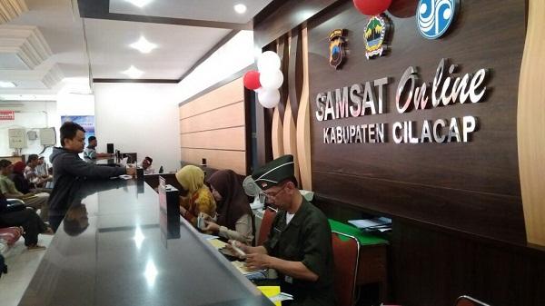 Kantor Samsat Online Keliling Kabupaten Cilacap