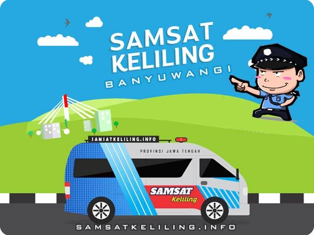 Mobil operasional Ilustrasi SAMSAT Keliling Banyuwangi