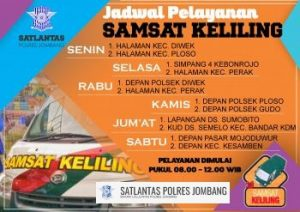 Pelayanan SAMSAT Keliling Jombang